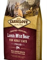 Carnilove lamb/wild boar sterilised