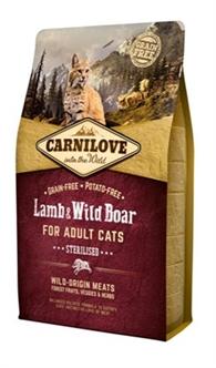 Carnilove lamb/wild boar sterilised