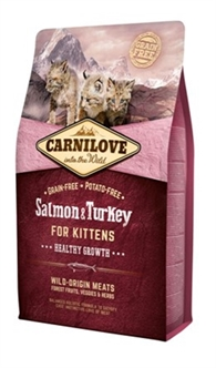 Carnilove salmon/turkey kittens