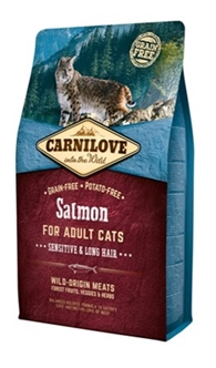 Carnilove salmon sensitive/long hair