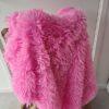 Fluffy kleed Roze